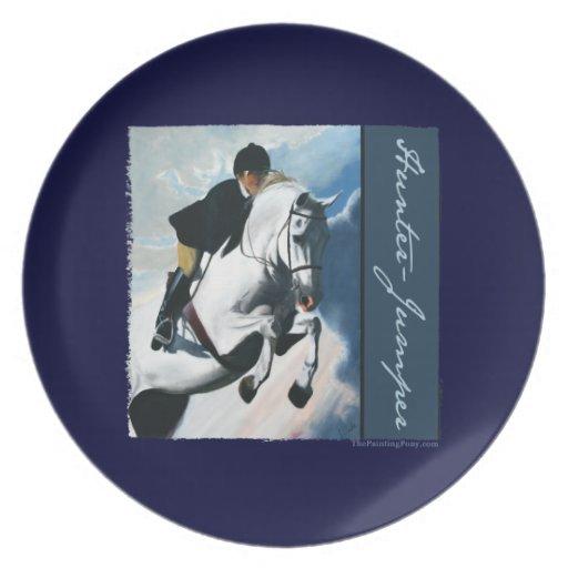 White Horse Head Plates