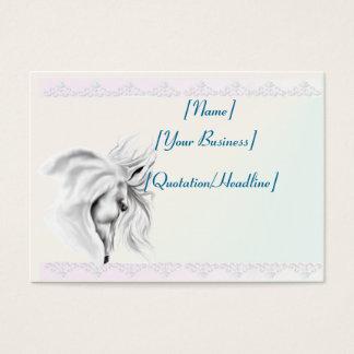 White Horse Head profilecard_chubby_horizontal,... Business Card