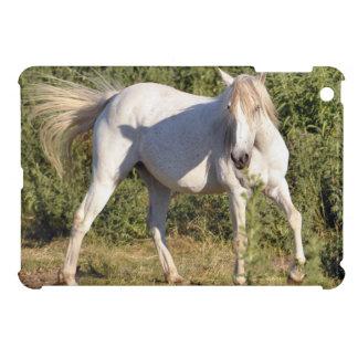 White Horse in Field Horse-lover's Case iPad Mini Cover