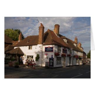 White Horse Inn, Boughton-under-Blean, Kent Card