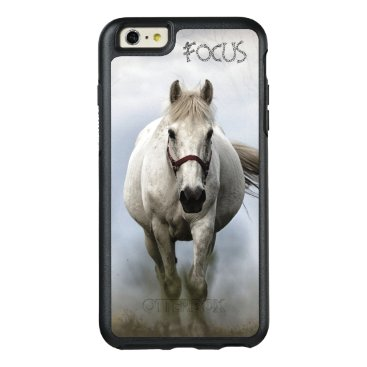 White Horse - Inspirational - OtterBox iPhone 6/6s Plus Case