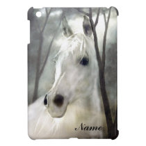 White Horse iPad Mini Cover