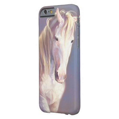 White Horse iPhone 6 case