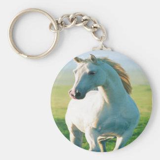 White Horse Key Chain