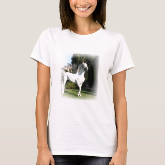 White Horse Ladies Fitted T-Shirt