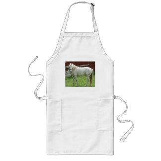 White Horse Long Apron