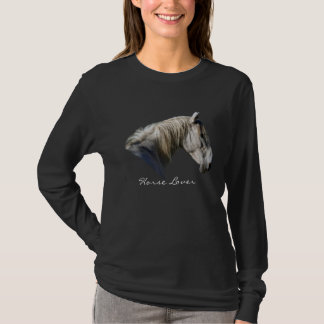 White Horse Lover Equine T-Shirts