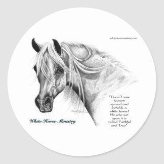 White Horse Ministry Stickers