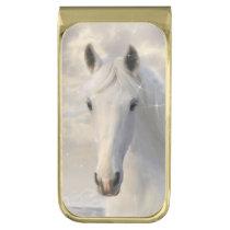 White Horse Money Clip