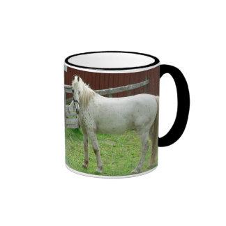 White Horse Mugs