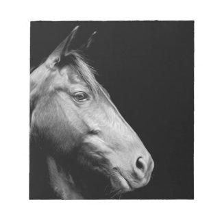 White Horse Memo Notepad