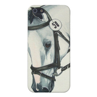 White Horse On Contact Case For iPhone SE/5/5s