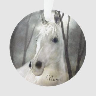 White Horse Ornament