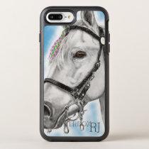 White Horse OtterBox Symmetry iPhone 8 Plus/7 Plus Case