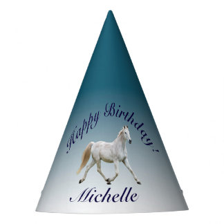 White Horse Party Hats