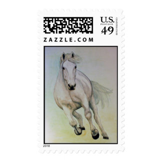 White Horse Postage Stamps
