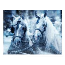 White Horse postcard