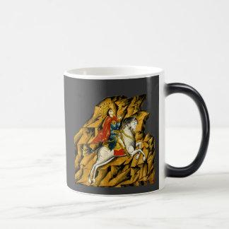 White Horse Rider Magic Mug