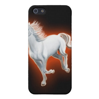White Horse Running Cover For iPhone 5