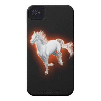 White Horse Running iPhone 4 Cover