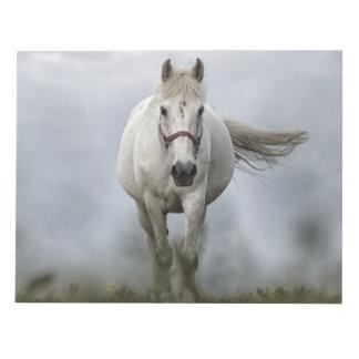 White Horse Running Note Pad