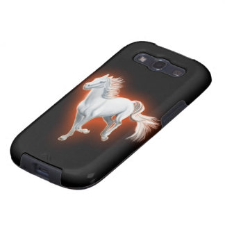 White Horse Running Samsung Galaxy S3 Cover