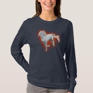 White Horse Running T-Shirt