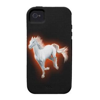 White Horse Running V2 iPhone 4 Cover