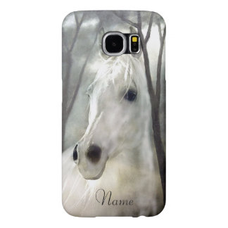 White Horse Samsung Galaxy S6 Case