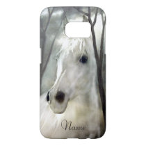 White Horse Samsung Galaxy S7 Case