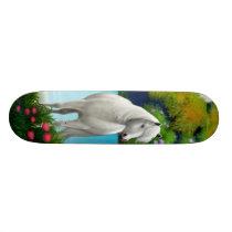 White Horse Skateboard