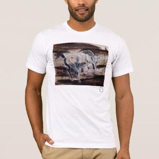 """White Horse "" T-Shirt"