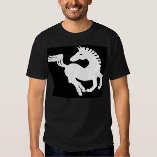 White horse t shirt