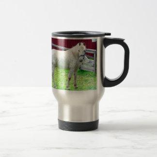 White Horse Travel Mug