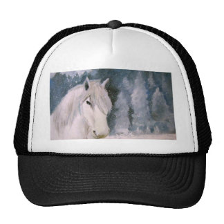 White Horse Trucker Hat