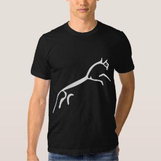 White Horse (Uffington Castle) - Customized Tee Shirt