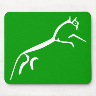 White Horse (Uffington Castle) Mouse Pad