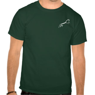 White Horse (Uffington Castle) - Pocket Motif Tshirts