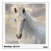 White Horse Wall Decal