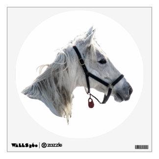 White Horse Wall Sticker