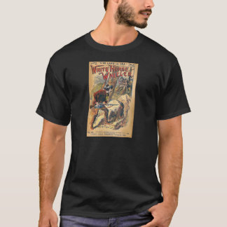 White Horse - Western Dime Novel - Vintage T-Shirt