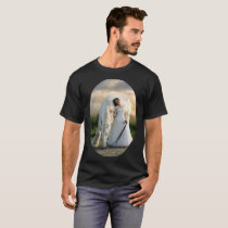 White Horse with Bride T-Shirt