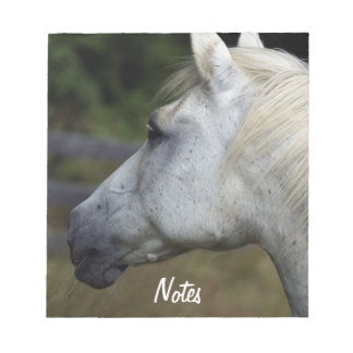 White Horse's Head Equine-lover's Notepad