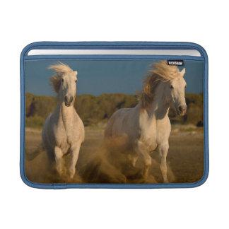 White Horses Running On Beach   Camargue, France MacBook Air Sleeve