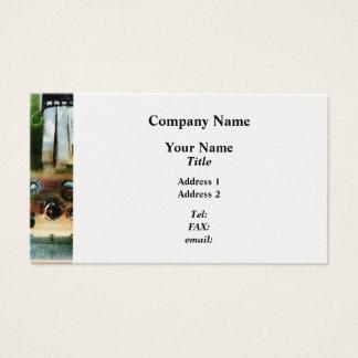 White Hose and Nozzles  - Platinum Finish Business Card