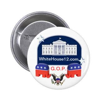 White House 2012 Button