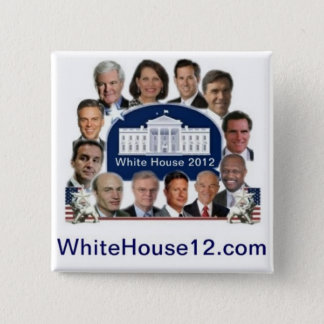 White House 2012 Pinback Button