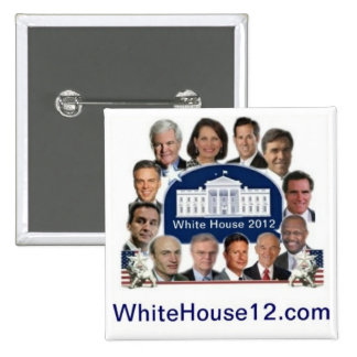White House 2012 Pinback Button