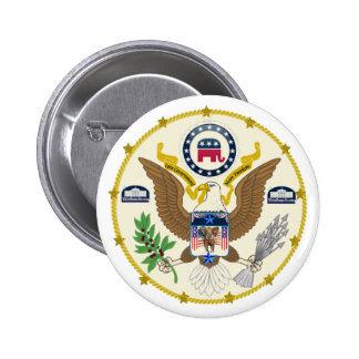White House 2016 Great Seal of the G.O.P. Pin