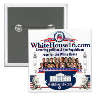White House 2016 Republican Candidate Pin